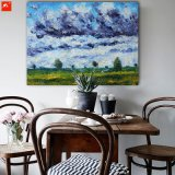 Impressionism Monet Countryside Landscape Scenery View Oil Painting