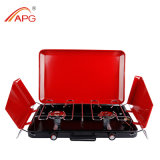 Two Burner Portable Butane BBQ Grill
