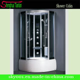 Corner Massage Tempered Glass Steam Shower Bath Room (TL-8849)