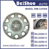 """Silver Universal ABS 13""""14""""15""""16"""" Wheel Rim Covers"""