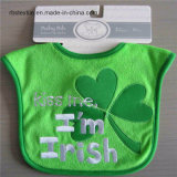 Easy Cleaning Soft Cotton Embroidered Baby Bib