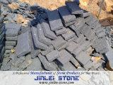 Chinese Natural Split Black Basalt Paving Stone (Zhangpu Black Basalt)