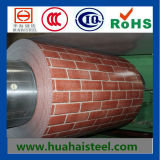 Brick Pattern Color Galvanized Steel Coil in Compertitive Price