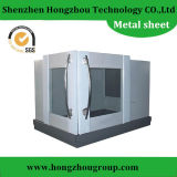 Sheet Metal Fabrication Industrial Components with Laser Cutting