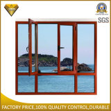 Double Glass Casement Window with Fixed Parts (55 series)