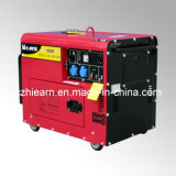 4kw Red Color Silent Diesel Generator Set (DG5500SE)