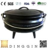 Best-Duty Enamel Cast Iron Colours Three Legged Potjie Pot