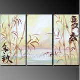 Group Oil Painting Scenery Art on Canvas for Decor (LA3-128)