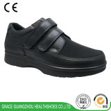 Diabetic Shoes Leather Wide Shoes for Edema Foot