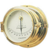 Marine Clinometer Brass Case Open Case Type Dia 102mm