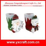 Christmas Decoration (ZY15Y140-1-2) Christmas Gift Product Christmas Figurine