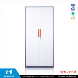 Mingxiu High Quality Office Manufactures Steel Wardrobe Lockers / 2 Door Steel Wardrobe