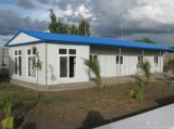 Fast Assembly and Energy Saving Prefab Fieldwork Camping House Used Fire-Proof Panel