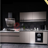 Modern Customized Lacquer Kitchen Design for Kitchen Decoration