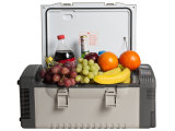 12L Vehicel DC Portable Refrigerator by Compressor for Camping