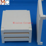 White Fused Ceramic Factory Al2O3 Special Shaped Crucibles