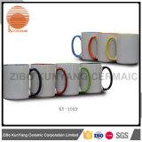 11oz Color Inside and Color Hanlde Sublimation Mug