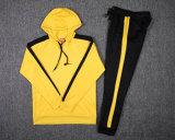 Warm UPS Sublimation Custom Yellow Black Tracksuits