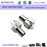 Straight PCB Female BNC Connector
