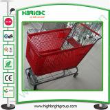 Plastic Basket Shopping Trolley Cart