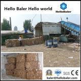 Auto-Hydraulic Press Waste Paper Baler Machine with Conveyor