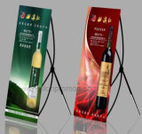 Advertising Campaign X Shape Banner, K Shaft Display Banner