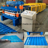PLC Glazed Tile Ibr Double Deck Roofing Forming Machine