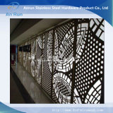 Metal Aluminium Perforated Laser Cut Decorative Panel with Leed Test