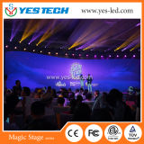 P3, P4mm Indoor Flexible LED Video Curtain Display for Stage
