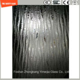 4-19mm Safety Frosting and Figured Glass for Hotel, Construction, Shower, Green House