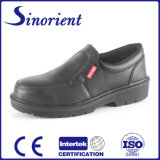 Black ESD Chef Shoes Dustman Safety Shoes with Ce Certificate RS6127