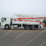 Hot Sale 37m Mounted Concrete Pump Truck for Sale
