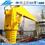 CCS Hydraulic Stiff Boom Marine Deck Crane 25t