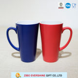 400ml ′v′ Shape Big Tall Ceramic Mug with Handle