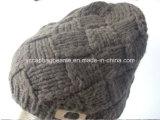 Custom Slouchy Beanie, Knit Slouchy Beanie Hat,