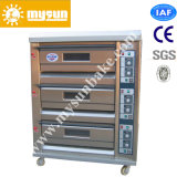 Gas Energy Saving 3 Layers 6 Trays Bread Bakery Oven