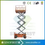 12m 14m Aerial Electric Mobile Small Hydraulic Platform Scissor Lift