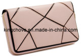 Fashion Pink Patch Leather Wallet (KCL13)