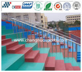 Wearable Leisure Area Flooring of Stadium Grandstand/Parking Lot/Playground/Square