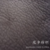 100% Polyester Suede Embossed Elephant Skin Fabric for Sofa