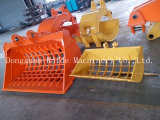 Grilling/Skeleton Bucket for Hitachi/Kobelco/Hyundai/Komatsu/Cat