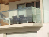 Clear/Ultra-Clear Tempered Balcony Glass Balustrade/Frameless Glass Balustrade