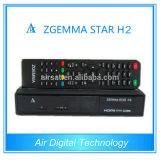 in Stock! ! 2015 Zgemma Star H2 Linux TV Satellite Receiver DVB-S2+DVB-T2