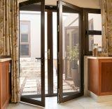 Bronze Color Thermal Break Aluminum Patio Door for Europe Villa