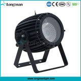 Linear Dimming IP65 60W RGBW Zoom LED DMX PAR Can