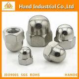 Ss304/316 Hex Domed Cap Nut (DIN1587)