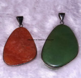 Fashion Pendant, Semi Precious Stone Pendant. Jewelry Sets (ESB01429)