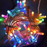 LED Holiday Outside Christmas Decoration RGB String Lights