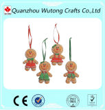 Handicrafts The Gingerbread Man Design Resin Christmas Gifts Tree Decoration