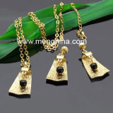 Fashion Gold Plating Jewelry Set (NE00132)